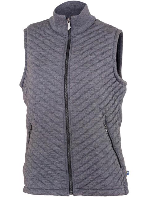 Ivanhoe of Sweden Kicki WB Vest Women grey